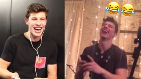 Shawn Mendes laughing compilation! - YouTube