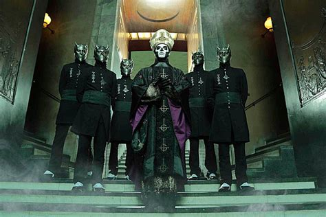 A Nameless Ghoul From Ghost Talks 'Meliora' + More