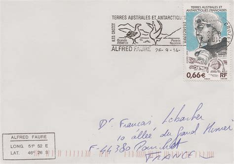 Covers and stamps of the World: Une jolie lettre des Iles