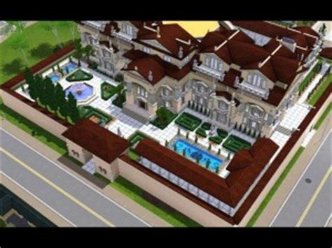 Sims 3 Super Mansions | Homes of the Rich