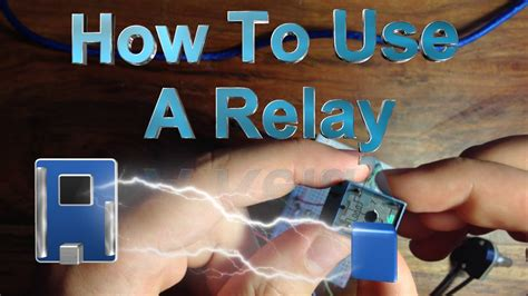 How to Use a Relay With the Arduino - YouTube