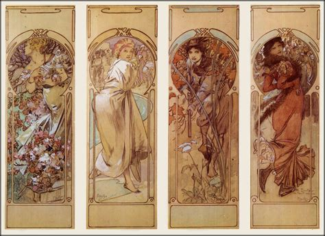 Design inspiration of the day: the works of Alphonse Mucha