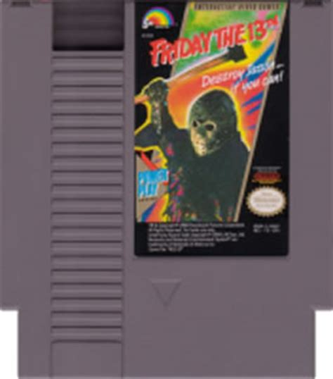 Friday the 13th NES Nintendo Game