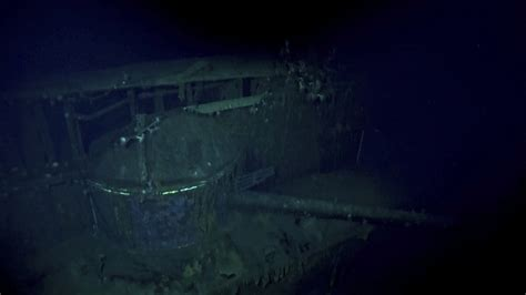 Deep-sea explorers find Japanese ship that sank during