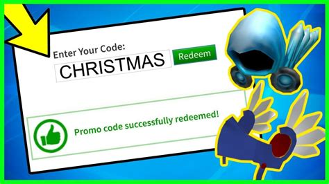 *CHRISTMAS* ALL WORKING PROMO CODES ON ROBLOX 2019