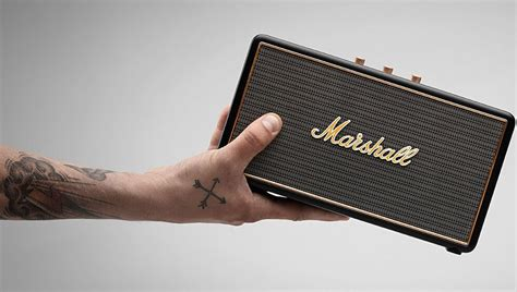 Marshall Stockwell Portable Speaker | The Coolector