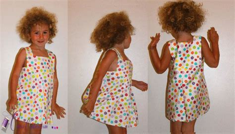 patron couture robe fille 2 ans 18
