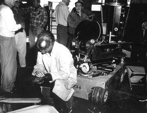 On the set of The Fly (1958)   Behind The Scenes