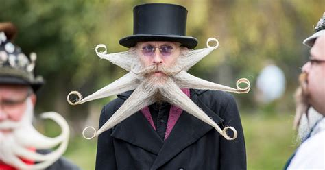 World's Most Epic Beards From 2015 World Beard And
