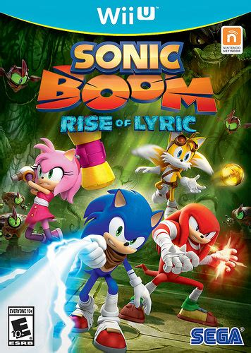 Sonic Boom Release Date and Cover Art Revealed   Middle Of