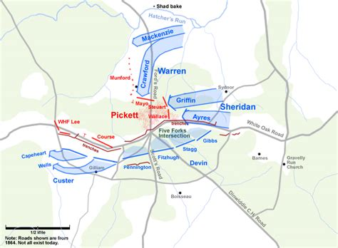 Five Forks Battlemaps - The Confederate Line Crumples