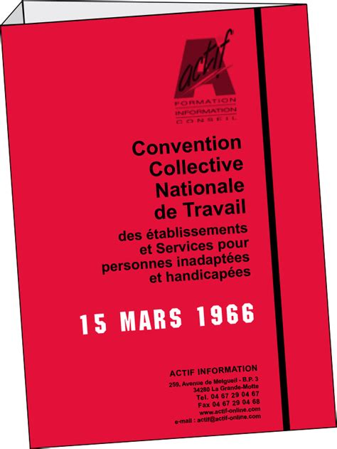 convention collective nationale 15 mars 1966 - CCMR