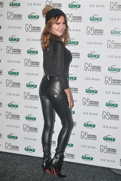 Lizzie Cundy attends Natural History Museum Ice Rink VIP