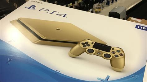Report: Gold PS4 coming for $249 - Polygon