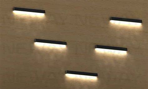 24W-60W Linear LED Wall Mounted Light Fixture 1000mm