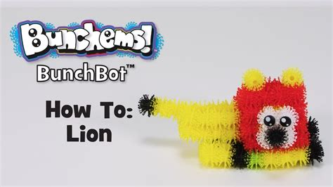 BunchBot How To: Lion - YouTube