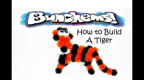 Bunchems: How To Build A Bunchems Tiger - YouTube